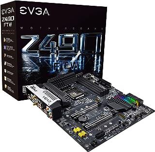 اي في جي ايه Z490 FTW واي فاي، LGA 1200، انتل Z490، ساتا 6 جيجابايت/ثانية، يو اس بي 3.2 Gen2x2، واي فاي/BT، ARGB، ATX، انت...