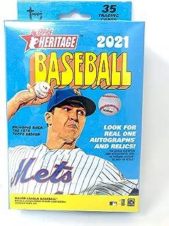 2021 Topps Heritage Baseball Hanger Pack