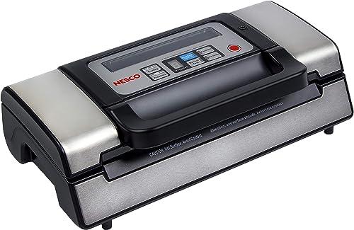 NESCO-VS-12,-Deluxe-Vacuum-Sealer-with-Bag-Starter-Kit