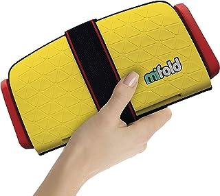 以色列 mifold 儿童便携式汽车安全座椅 (适合3-12岁) 黄色