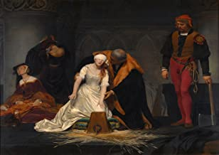 Paul Delaroche: The Execution of Lady Jane Grey. Fine Art Print/Poster. Size A1