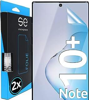 3D Skyddsfilm - Skärmskydd för Samsung Galaxy Note 10 Plus [2 st | smart engineered] - Transparent, Skyddsfall vänliga, In...