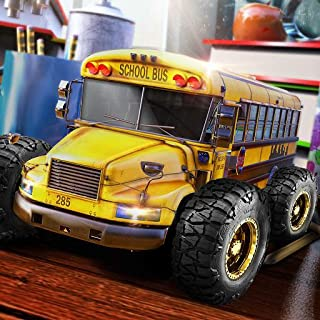 High School Monster Speed Bus Stunts 3D: Metro Extreme Jumping Mad Max Road Adventure Simulator Game