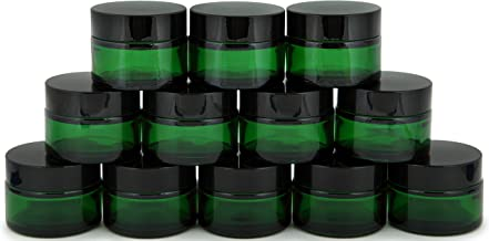 Best green glass jars with lids Reviews