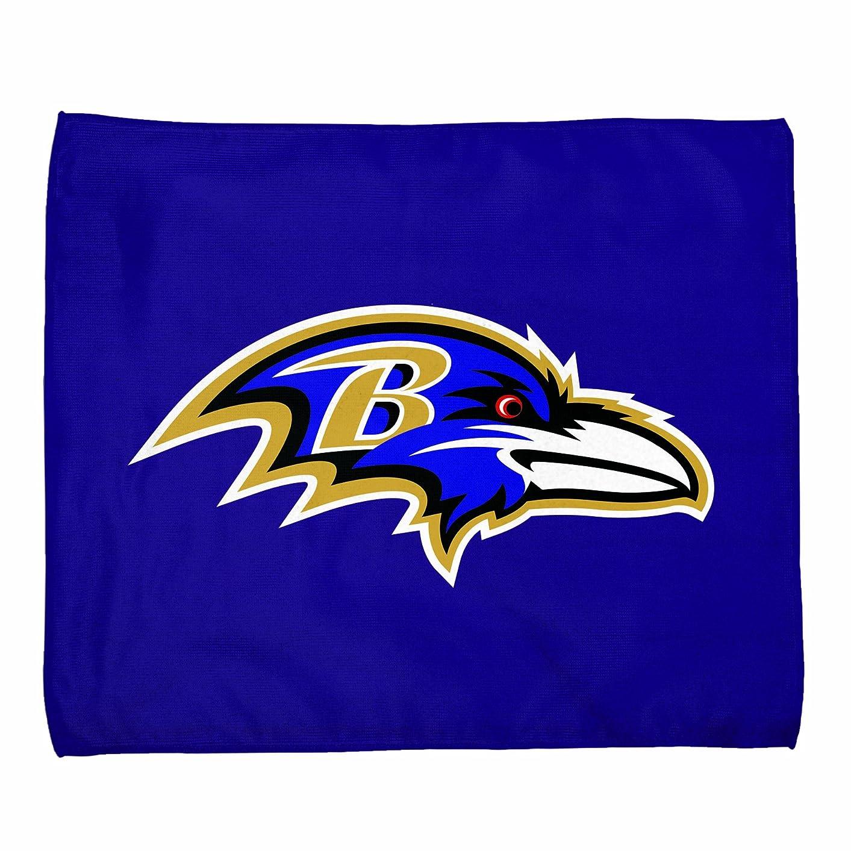 記事騒ぎ父方のNFL Baltimore Ravens 15-by-18ラリータオル