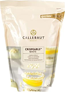 Callebaut White Crispearls, 800 Gram