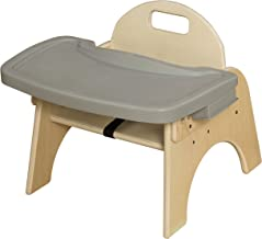 Wood Designs Stackable Woodie Toddler Chair with Adjustable Tray, 7