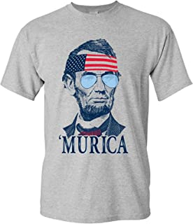 Presidents Murica, 4th of July, Memorial Day, USA Pride Tee