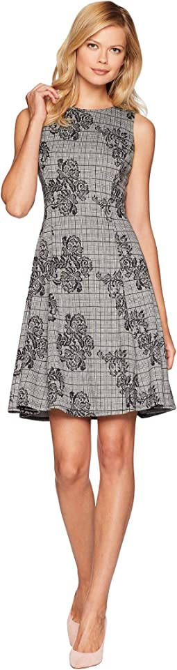 Plaid Fit & Flare Dress