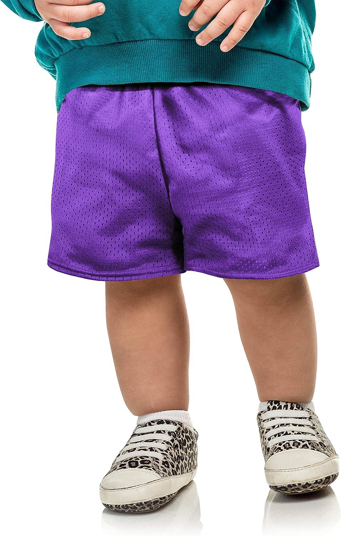Ma Croix Essentials Kids Mesh Shorts PE School Basketball Elastic Waist Band Athletic Sports
