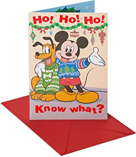 mickey mouse christmas greetings