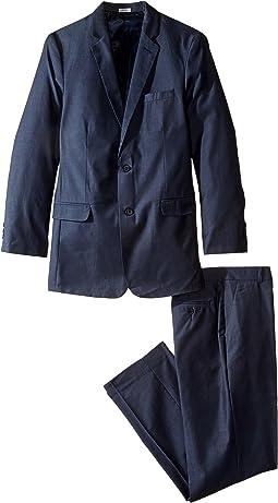 Calvin Klein Kids - Irridescent Twill Suit (Big Kids)