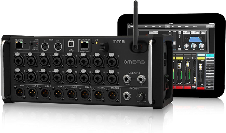 Midas 18-Input Digital Mixer