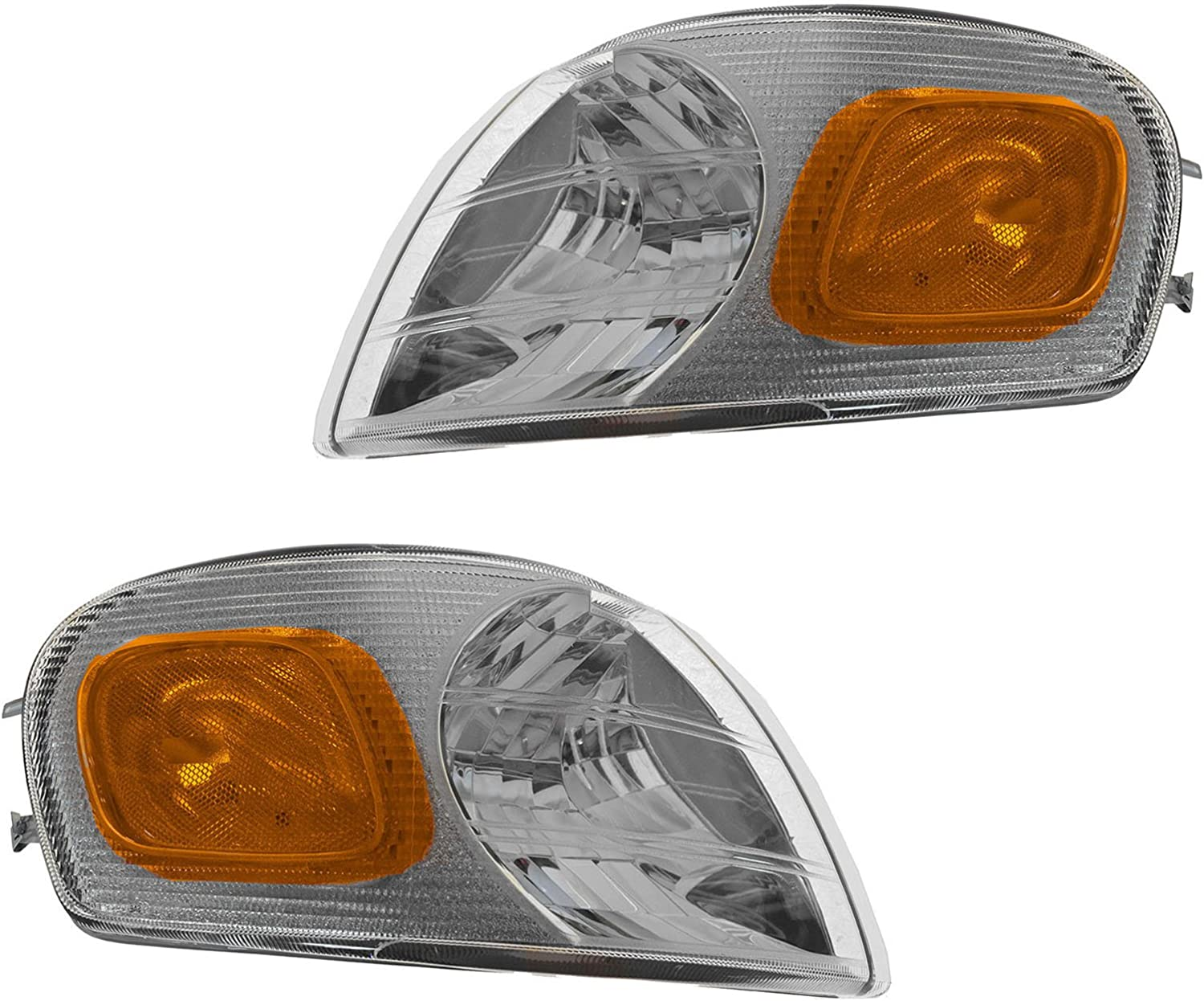 Parking At the price Year-end gift of surprise Corner Side Marker Turn Signal Light Lamp Pair Front Set