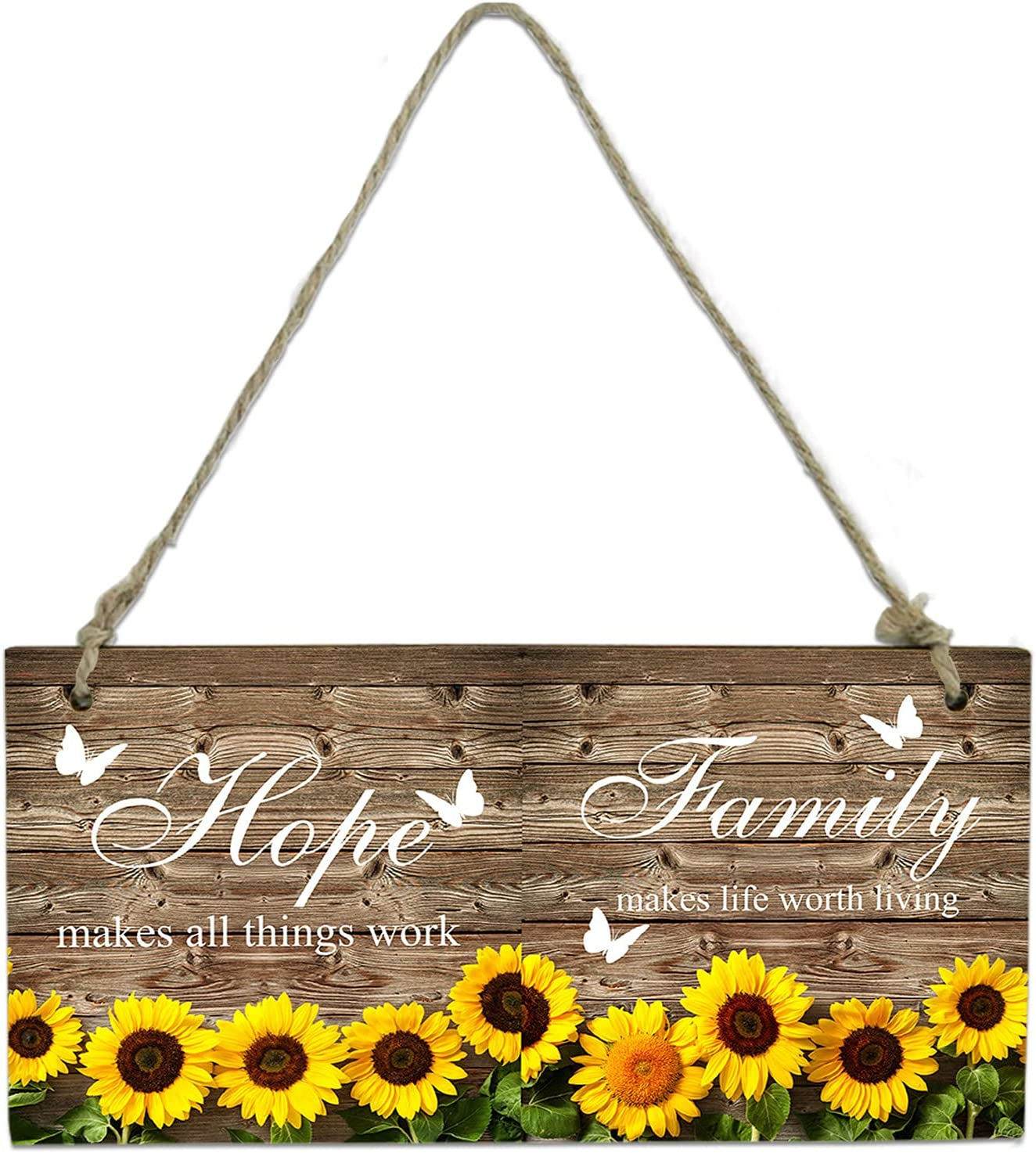 Wood Plaque Wall Hanging Sign for Sun Farmhouse Manufacturer direct delivery Kitchen Bathroom Max 80% OFF