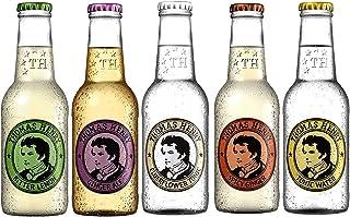 Thomas Henry Tonic Water, Spicy Ginger, Elderflower, Ginger Ale und Bitter Lemon 5 x 0.2 l inc. 0.75€ MEHRWEG Pfand