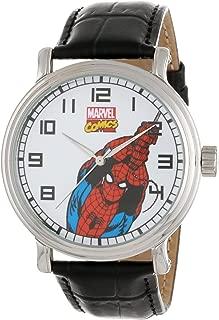 Men's Spider-Man Vintage Black Watch