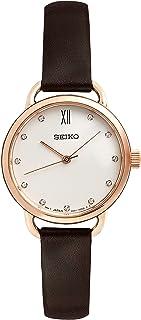 Seiko Women SUR698P-2 Year-Round Analog Quartz Brown Watch