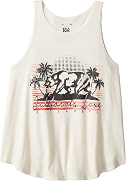 Retro Cali Bear Tank Top (Little Kids/Big Kids)