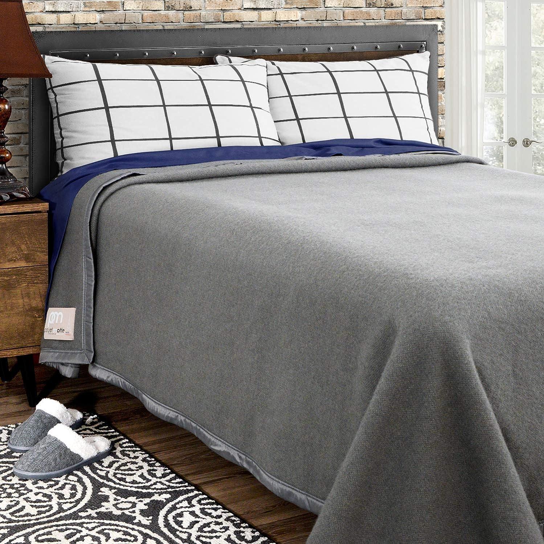 Poyet Motte Rivoli Solid 400GSM Sales 100% Blanket Ranking TOP8 Wool Virgin Medium