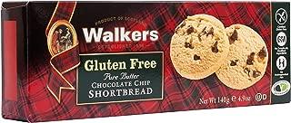 Walkers Shortbread Gluten-Free Chocolate Chip Shortbread, 4.9 Ounce