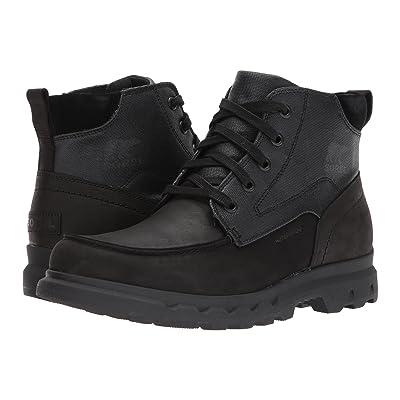 SOREL Portzman Moc Toe (Black/Quarry) Men