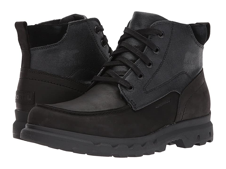 SOREL Portzman Moc Toe (Black/Quarry) Men