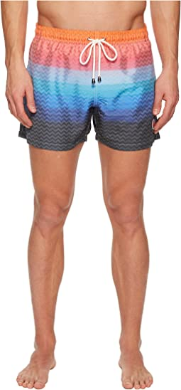 Missoni - Mare Nylon Jacquard Zigzag Sfumato Swimsuit