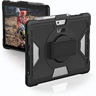 UAG Microsoft Surface Go with Hand Strap Outback Feather-Light Rugged [Black] Military Drop Tested Case