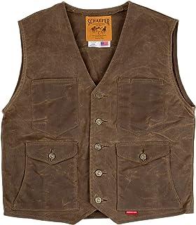 318-St-2Xl Schaefer Outfitters Mens Sunvintage Mesquite Vest 2XL