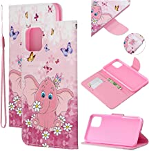 """Amocase Strap Leather Case with 2 in 1 Stylus for iPhone 11 Pro 5.8"""" 2019,Colorful Printed Premium Magnetic Wallet PU Leat..."""