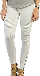 18e60e2c1a4fe Amazon.com: Ivory - Leggings / Clothing: Clothing, Shoes & Jewelry