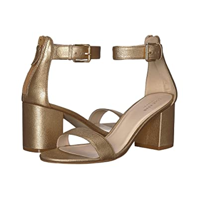 Cole Haan Clarette Sandal II (Soft Gold Leather) Women