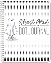 BookFactory Ghost Grid Dot Journal/Bullet Notebook 120 Pages 5.5