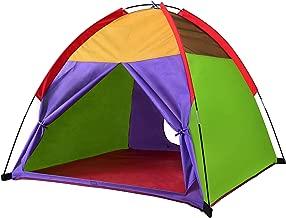 "Alvantor Kids Tents Indoor Children Play Tent For Toddler Tent For Kids Pop Up Tent Boys Girls Toys Indoor Outdoor Playhouse Camping Playground 8010 Rainbow 48""x48""x42"