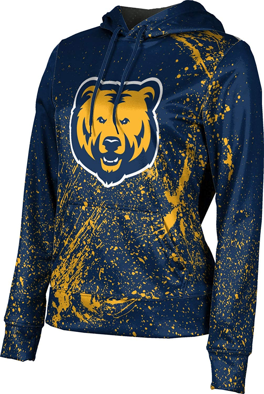 University of Northern Colorado Girls' Pullover Hoodie, School Spirit Sweatshirt (Splatter)