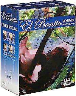【Amazonブランド】 SOLIMO エル ボニート テンプラニーリョ バッグインボックス 3000ml(テンプラニーリョ種 100%)