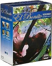 [Amazonブランド] SOLIMO エル ボニート テンプラニーリョ バッグインボックス 3000ml(テンプラニーリョ種 100%)