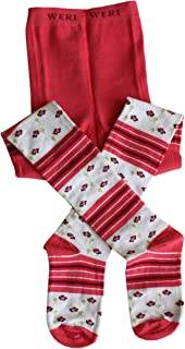 Weri Spezials - Collant per bambini, colore: fragola