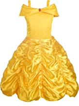 Dressy Daisy Girls` Princess Costumes Dress Up Halloween Birthday Fancy Party Dresses