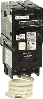 Siemens QF240A Ground Fault Circuit Interrupter, 40 Amp, 2 Pole, 120 Volt, 10,000 AIC, COLOR