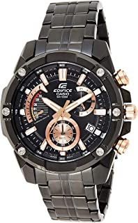 Casio Edifice Analog Black Dial Men's Watch-EFR-559DC-1AVUDF (EX428)