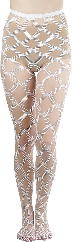 ToBeInStyle Women's Huge Multi Net Diamond Shape Pantyhose Stockings
