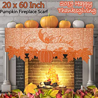 Best autumn mantel scarves Reviews