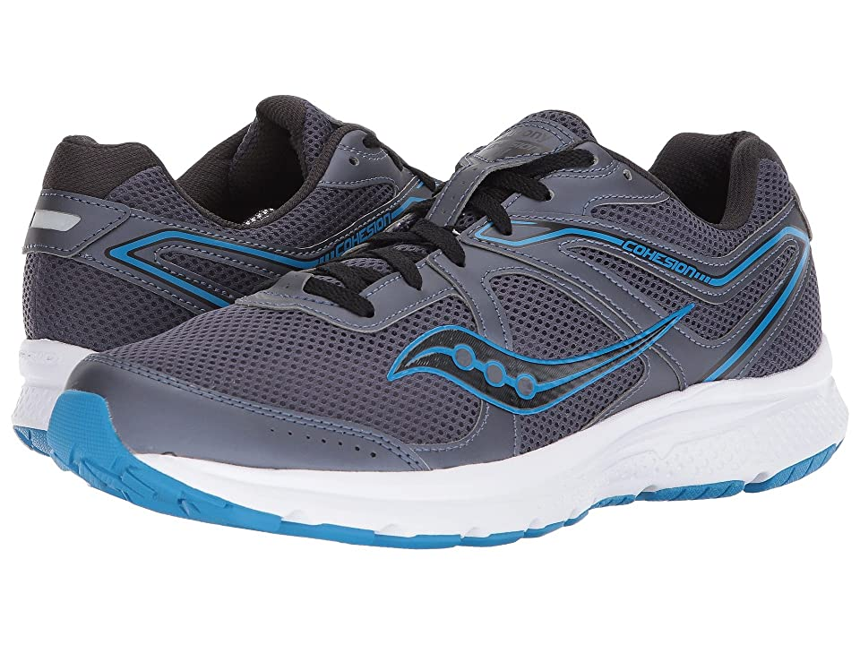Saucony Cohesion 11 (Grey/Blue) Men