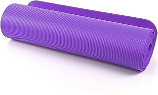 Accesorios para mochilas HYTGFR 183X61X0.6 Cm Estera de Yoga Antideslizante con Bolsa y Cuerda Capas Dobles Gimnasio para el Gimnasio Gimnasia