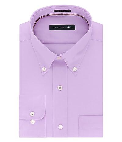 Tommy Hilfiger Dress Shirts Non Iron Regular Fit Solid Buttondown Collar