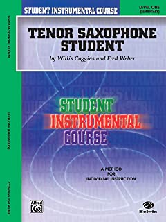 Student Instrumental Course Tenor Saxophone Student: Level I