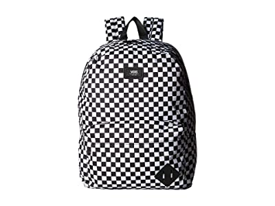 Vans Old Skool III Backpack (Black/White Check) Backpack Bags