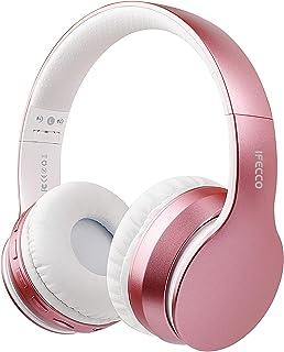 I love e iFecco Cuffie Bluetooth Over Ear, Pieghevoli Wirele